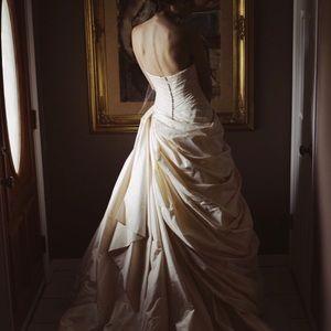 Romona Keveza RK170 wedding ball gown